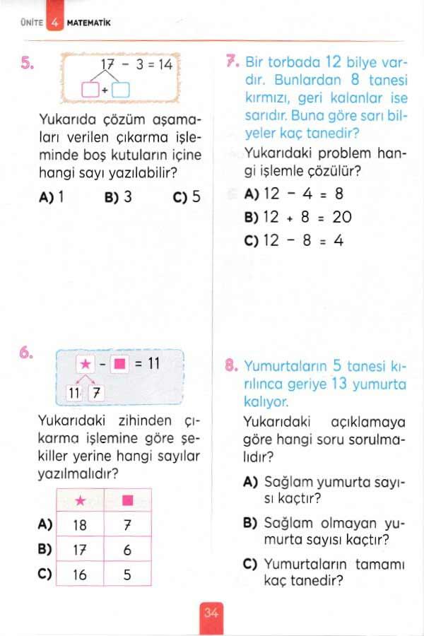 1. Sınıf Eğitim Seti - 11 Kitap