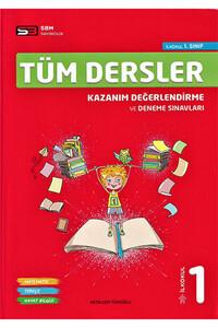 Sbm Yayıncılık - 1. Sınıf Tüm Dersler Kazanım Değerlendirme ve Deneme Sınavları - Sbm Yayıncılık