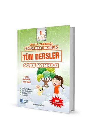 Bulut Eğitim Yayınları - 1. Sınıf Tüm Dersler Soru Bankası - Bulut Eğitim Yayınları