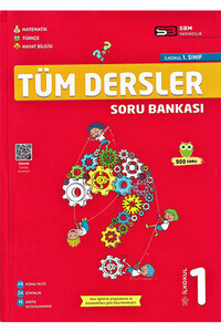 Sbm Yayıncılık - 1. Sınıf Tüm Dersler Soru Bankası - Sbm Yayıncılık