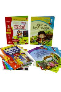 Çocuk Gezegeni - 1. Sınıflar İçin İlk Okuma Seti ve Pratik Matematik Serisi - 12 Kitap