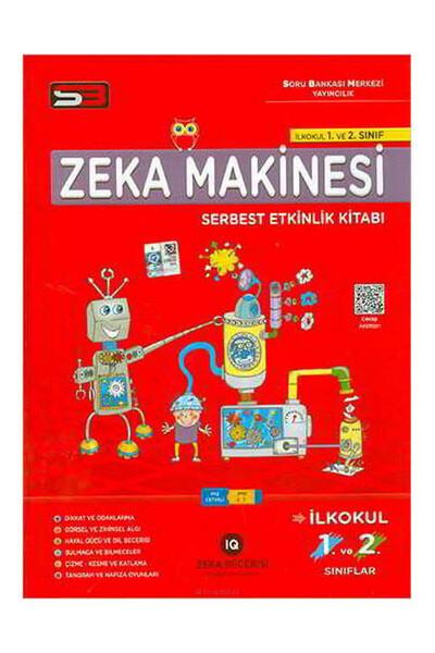 1. ve 2. Sınıf Zeka Makinesi Serbest Etkinlik Kitabı - Soru Bankası Merkezi