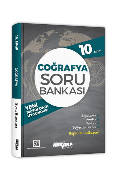 10. Sınıf Coğrafya Soru Bankası - Ankara Yayıncılık