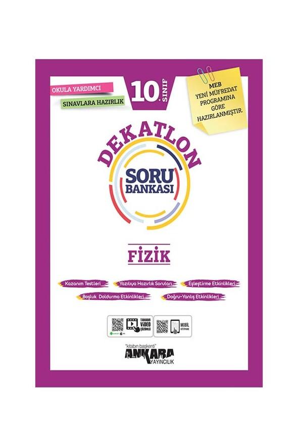 10. Sınıf Dekatlon Fizik Soru Bankası Ankara Yayıncılık