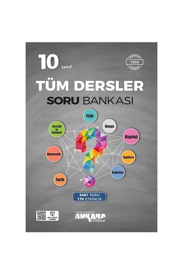10. Sınıf Tüm Dersler Soru Bankası Ankara Yayıncılık