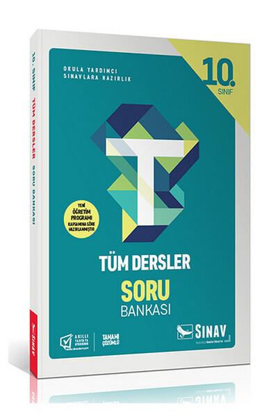 10. Sınıf Tüm Dersler Soru Bankası - Sınav Dergisi Yayınları