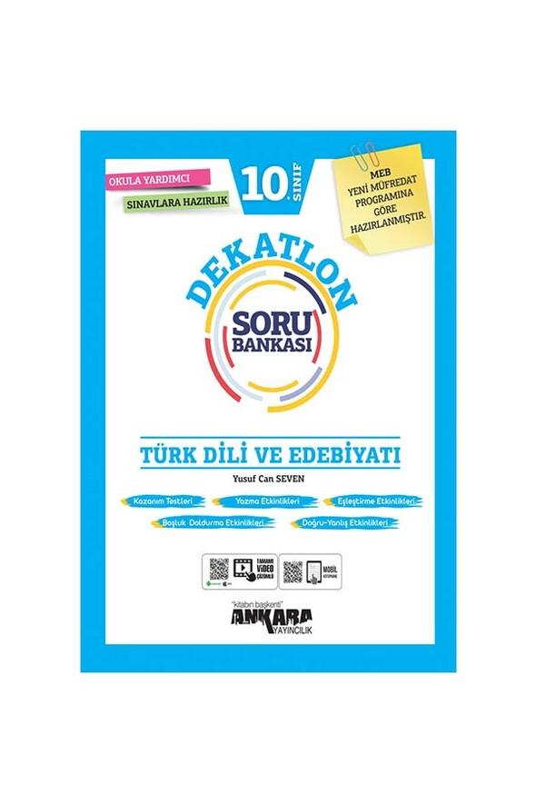 10. Sınıf Türk Dili ve Edebiyatı Dekatlon Soru Bankası Ankara Yayıncılık
