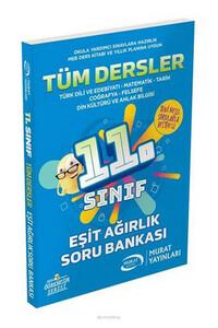 Murat Yayınları - 11. Sınıf Eşit Ağırlık Tüm Dersler Soru Bankası - Murat Yayınları