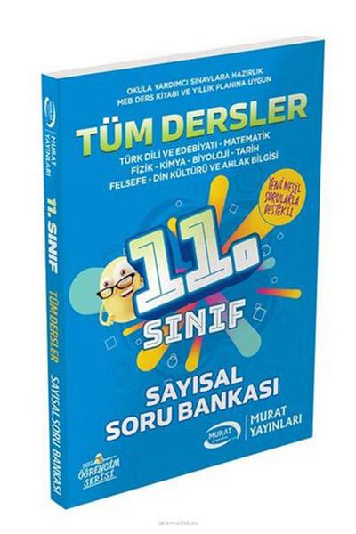 11. Sınıf Sayısal Tüm Dersler Soru Bankası - Murat Yayınları