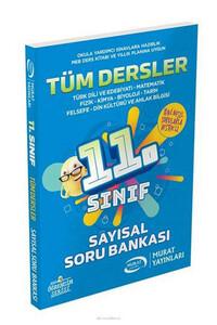 Murat Yayınları - 11. Sınıf Sayısal Tüm Dersler Soru Bankası - Murat Yayınları