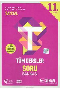Sınav Dergisi Yayınları - 11. Sınıf Tüm Dersler Sayısal Soru Bankası - Sınav Dergisi Yayınları