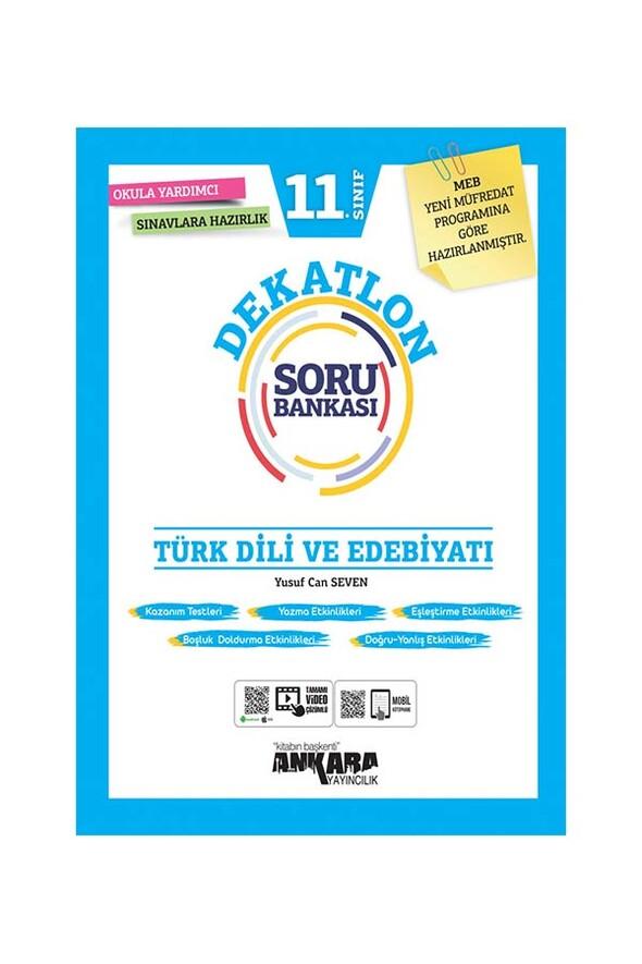 11. Sınıf Türk Dili ve Edebiyatı Dekatlon Soru Bankası Ankara Yayıncılık