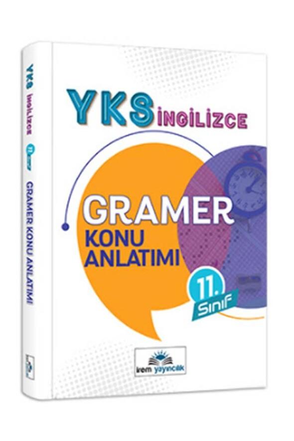 11. Sınıf YKS İngilizce Gramer Konu Anlatımı İrem Yayınları