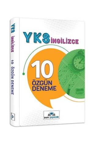 İrem Yayınları - 12.Sınıf Yks İngilizce 10 Özgün Deneme İrem Yayıncılık