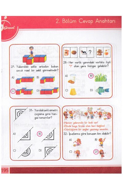 2. Sınıf Bilsem Tablet Modunda - Çocuk Gezegeni Yayınları