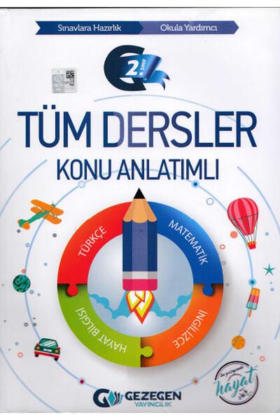 2. Sınıf Tüm Dersler Konu Anlatımlı - Gezegen Yayıncılık