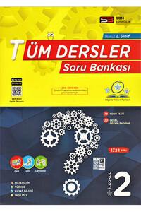 Sbm Yayıncılık - 2. Sınıf Tüm Dersler Soru Bankası - Sbm Yayıncılık