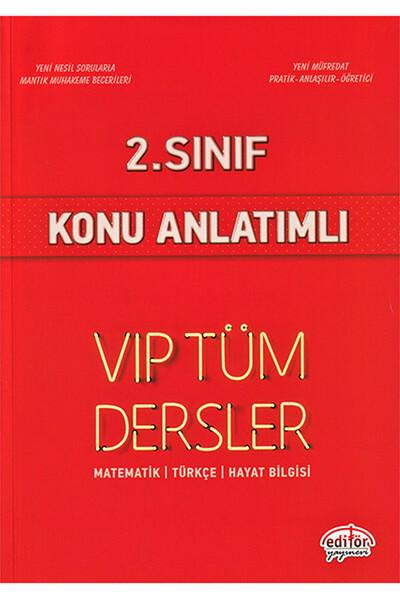 2. Sınıf VIP Tüm Dersler Konu Anlatımlı - Editör Yayınevi