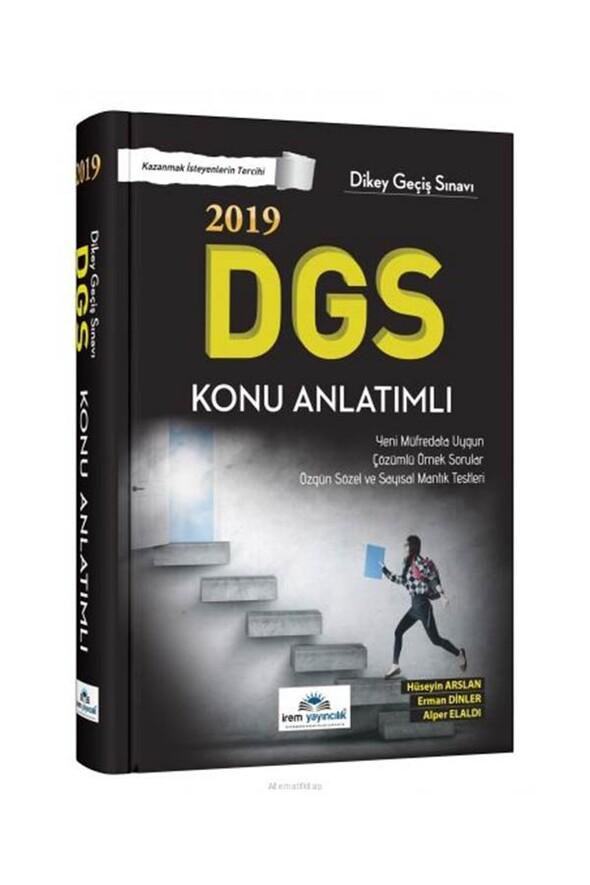 2019 DGS Konu Anlatımlı İrem Yayıncılık