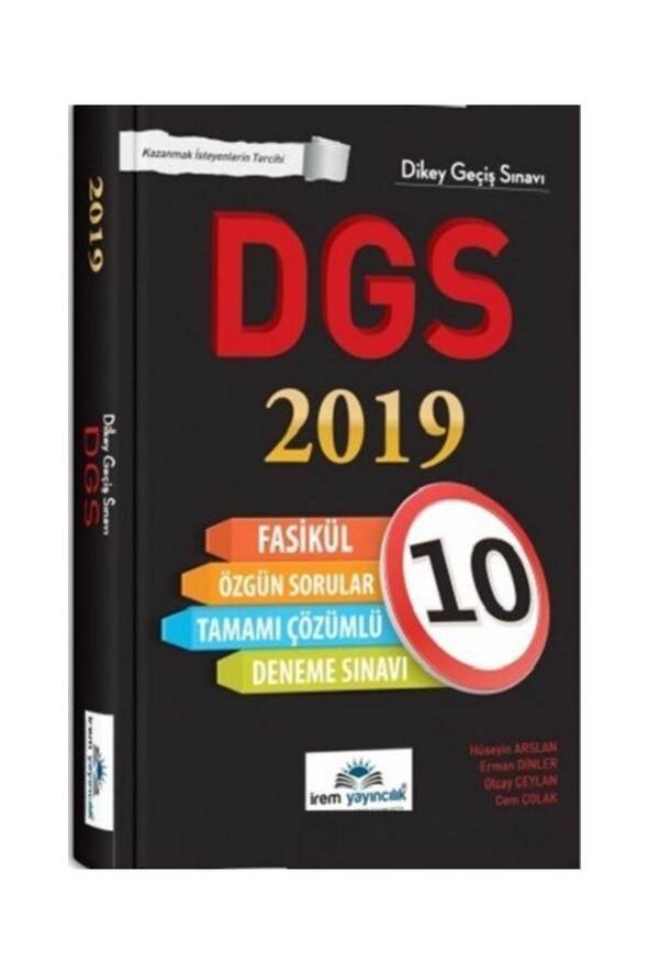 2019 DGS Tamamı Çözümlü 10 Fasikül Deneme İrem Yayıncılık