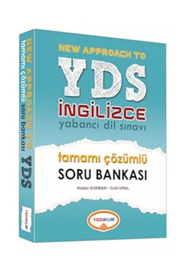 2020 YDS İngilizce Tamamı Çözümlü Soru Bankası Yediiklim Yayınları