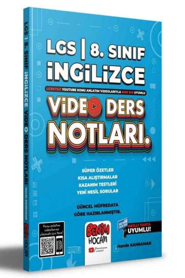 2022 LGS 8.Sınıf İngilizce Video Ders Notları (Konu Anlatımı) Benim Hocam Yayınları