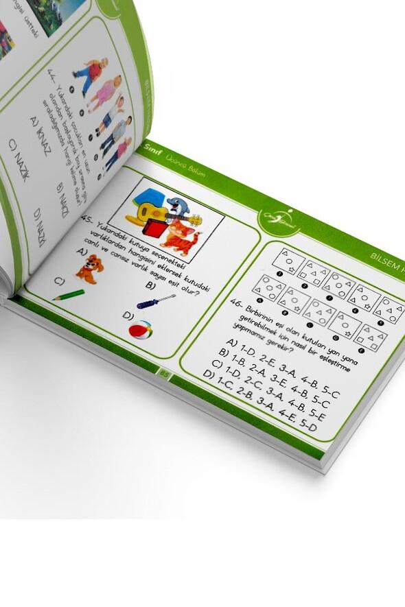 3. Sınıf Bilsem Tablet Modunda - Çocuk Gezegeni Yayınları