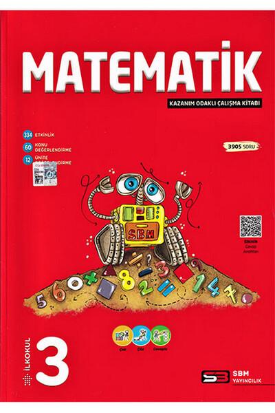 3. Sınıf Matematik Kazanım Odaklı Çalışma Kitabı Soru Bankası - Sbm Yayıncılık