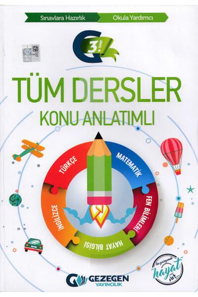 3. Sınıf Tüm Dersler Konu Anlatımlı - Gezegen Yayıncılık