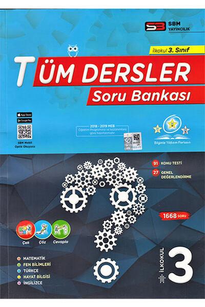 3. Sınıf Tüm Dersler Soru Bankası - Sbm Yayıncılık