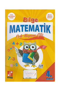 Medyan Yayınları - 4. Sınıf Bilge Matematik Çek Kopar Çöz - Medyan Yayınları