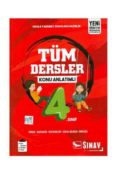 4. Sınıf Tüm Dersler Konu Anlatımlı - Sınav Dergisi Yayınları