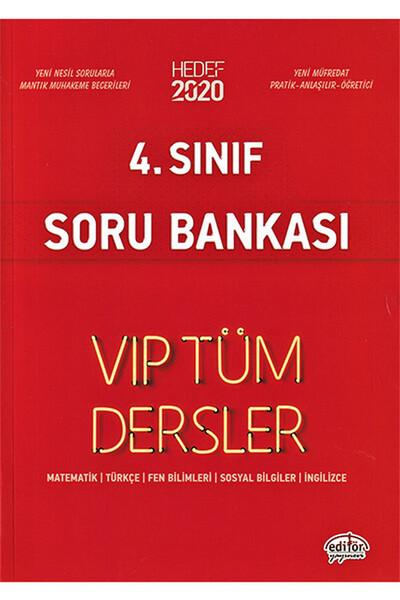 4. Sınıf VIP Tüm Dersler Etkinliklerle Soru Bankası - Editör Yayınevi