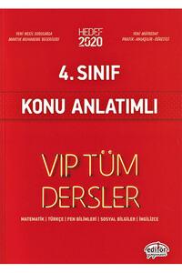 Editör Yayınevi - 4. Sınıf VIP Tüm Dersler Konu Anlatımlı - Editör Yayınevi