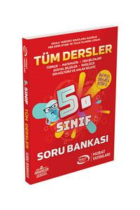 Murat Yayınları - 5. Sınıf Tüm Dersler Soru Bankası - Murat Yayınları