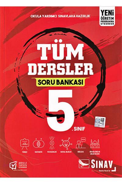 5. Sınıf Tüm Dersler Soru Bankası - Sınav Dergisi Yayınları