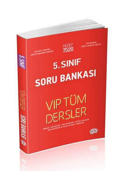 5. Sınıf VIP Tüm Dersler Etkinliklerle Soru Bankası - Editör Yayınevi