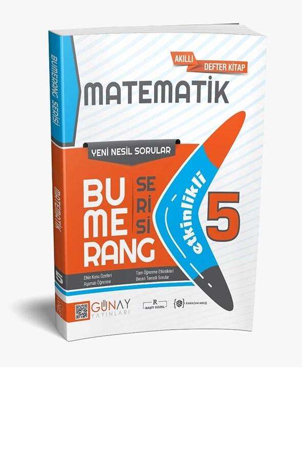 5.Sınıf Bumerang Etkinlikli Matematik Soru Bankası Günay Yayınları
