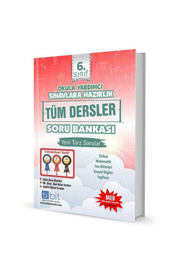 6. Sınıf Tüm Dersler Soru Bankası - Bulut Eğitim Yayınları