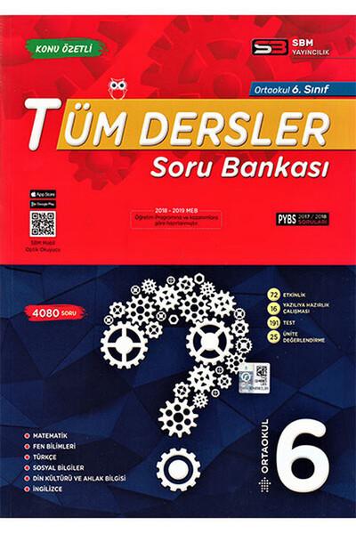 6. Sınıf Tüm Dersler Soru Bankası - Sbm Yayıncılık