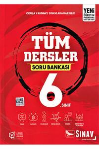 Sınav Dergisi Yayınları - 6. Sınıf Tüm Dersler Soru Bankası - Sınav Dergisi Yayınları