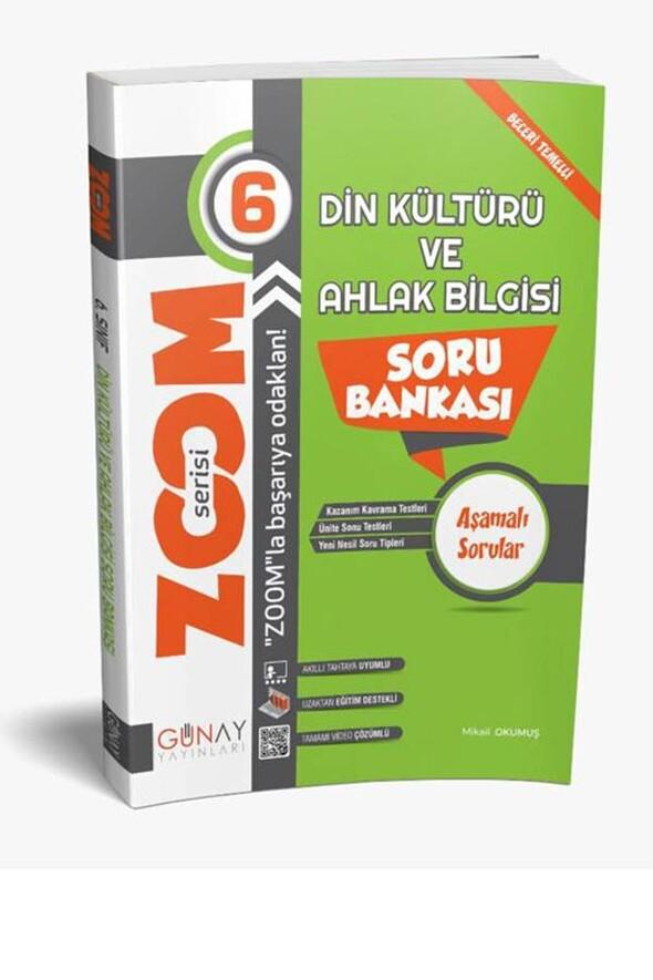 6. Sınıf Zoom Serisi Din Kültürü Soru Bankası Günay Yayınları