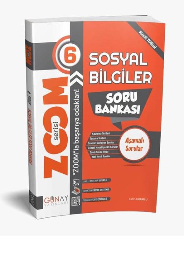 6.Sınıf Sosyal Bilgiler Zoom Soru Bankası Günay Yayınları