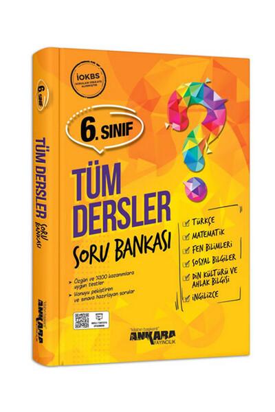 6.Sınıf Tüm Dersler Soru Bankası - Ankara Yayıncılık