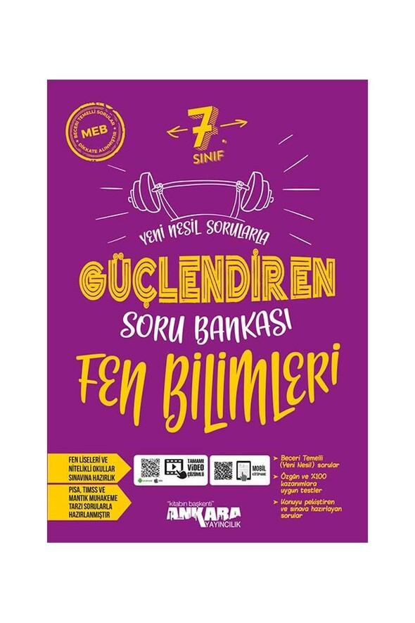7. Sınıf Güçlendiren Fen Bilimleri Soru Bankası Ankara Yayıncılık