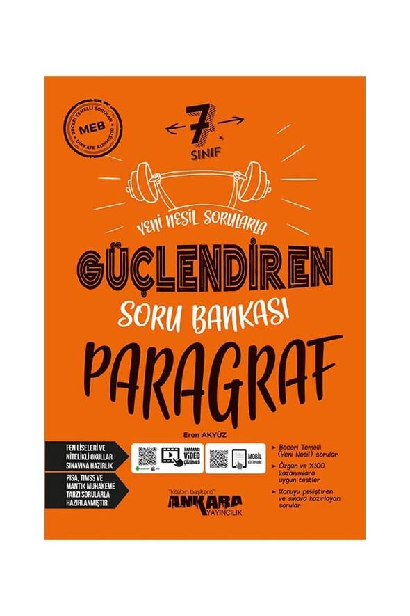7. Sınıf Paragraf Güçlendiren Soru Bankası Ankara Yayıncılık