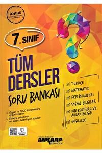 Ankara Yayıncılık - 7. Sınıf Tüm Dersler Soru Bankası - Ankara Yayıncılık