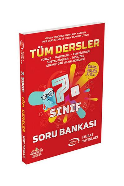 7. Sınıf Tüm Dersler Soru Bankası - Murat Yayınları