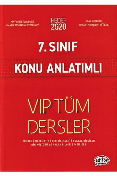 7. Sınıf VIP Tüm Dersler Konu Anlatımlı - Editör Yayınevi