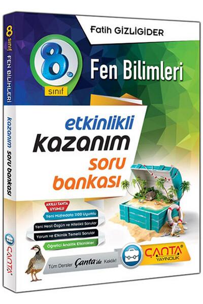8. Sınıf Fen Bilimleri Etkinlikli Kazanım Soru Bankası - Çanta Yayınları